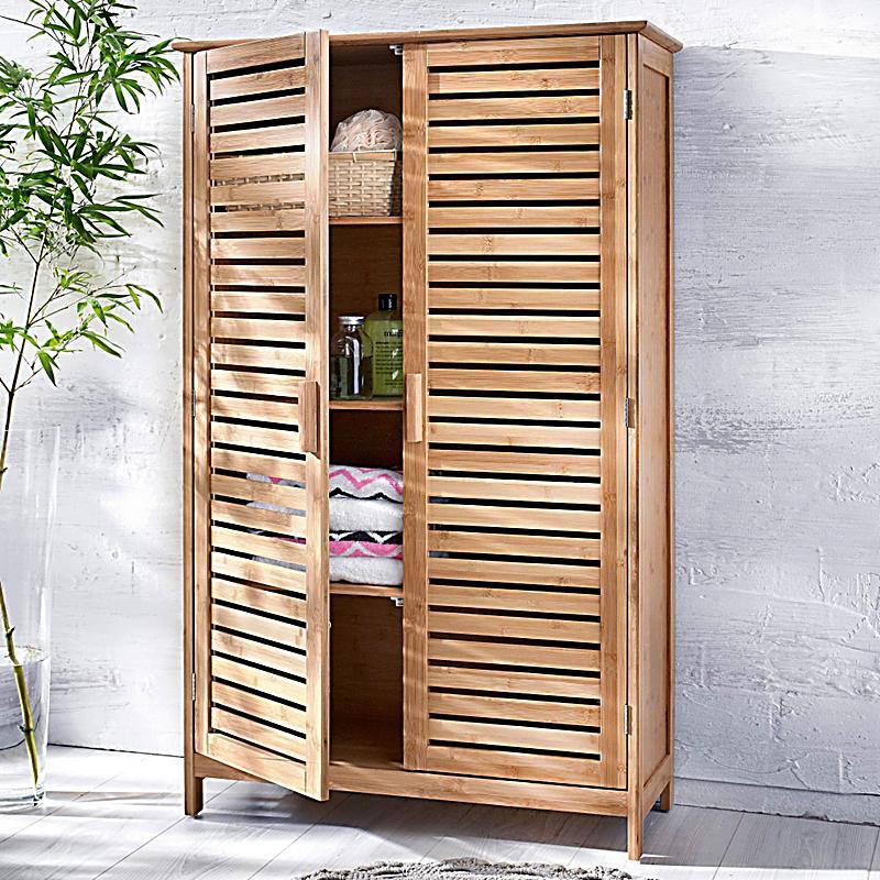 redirecting to artikel deko trends badschrank bamboo breit farbe braun 17613854 1. Black Bedroom Furniture Sets. Home Design Ideas