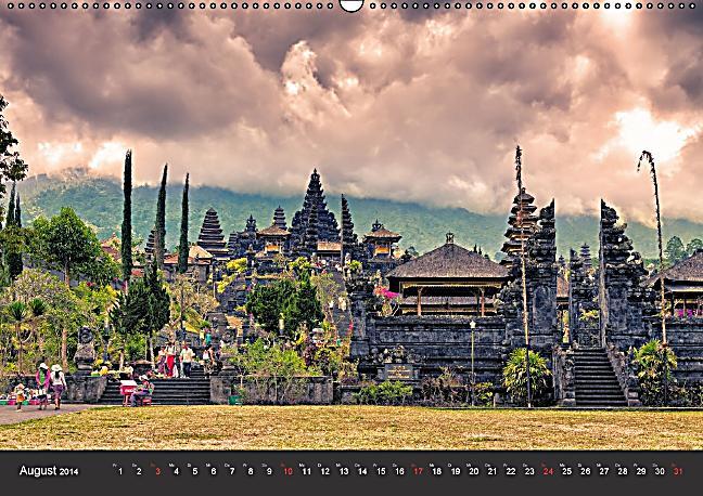 Bali - Insel der Götter (Wandkalender 2014 DIN A2 quer