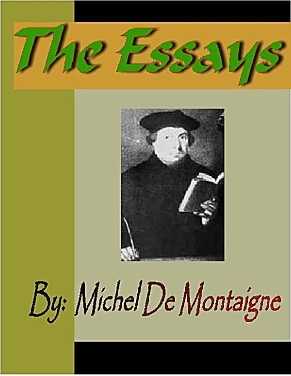 Michel De Montaigne Saggi Pdf