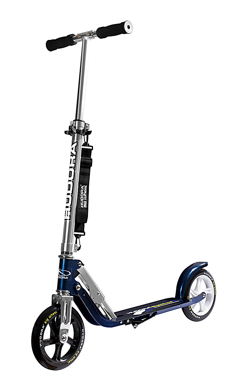 "Kidoh! Hudora Scooter ""Big Wheel MC 205\"", blau"