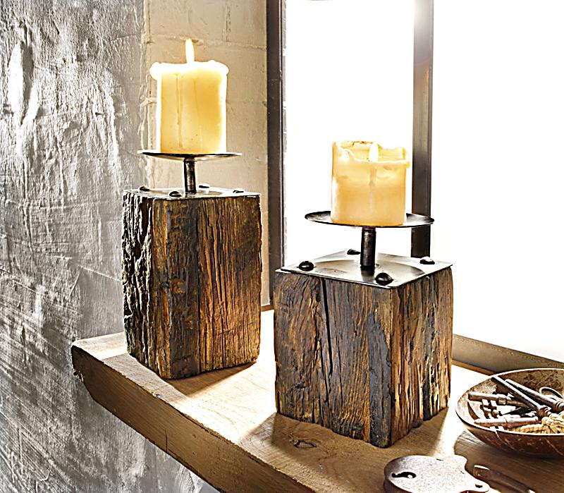 redirecting to artikel deko trends kerzenhalter set wood 2 teilig 17605990 1. Black Bedroom Furniture Sets. Home Design Ideas