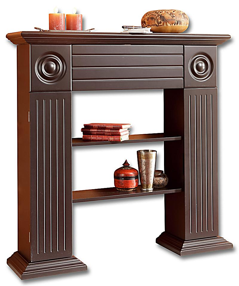 redirecting to artikel deko trends konsolenregal kamin farbe braun 16650367 1. Black Bedroom Furniture Sets. Home Design Ideas