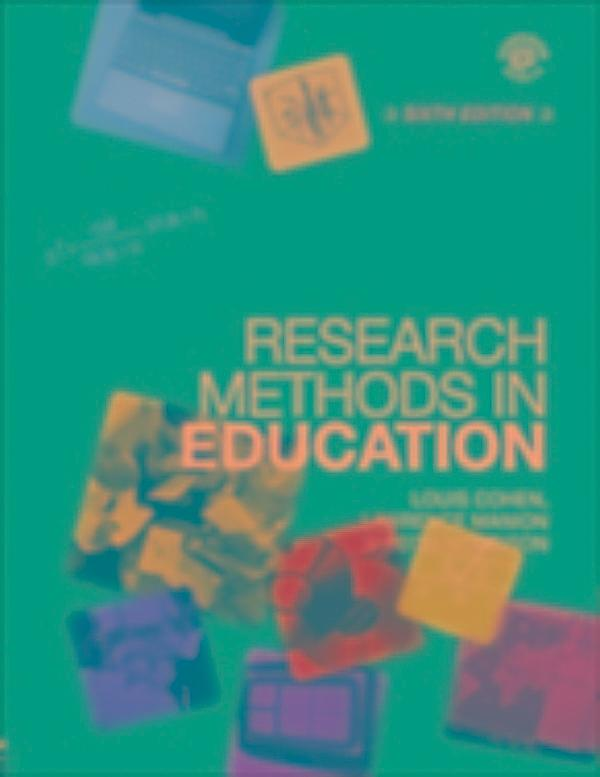 research methods in education 7th edition pdf download
