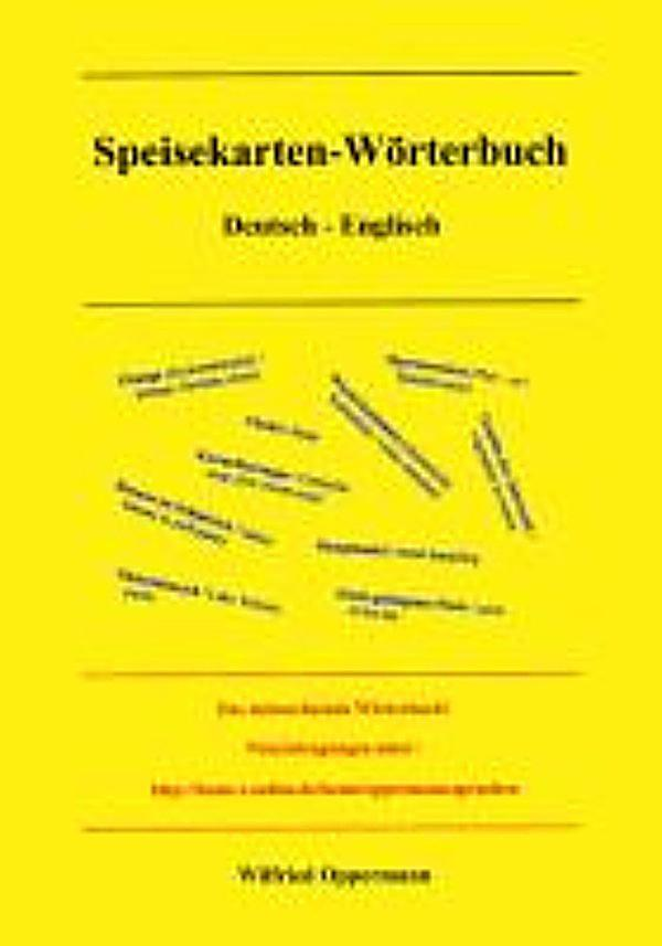 Redirecting to artikel ebook speisekarten woerterbuch for Englisch deutsche ubersetzung