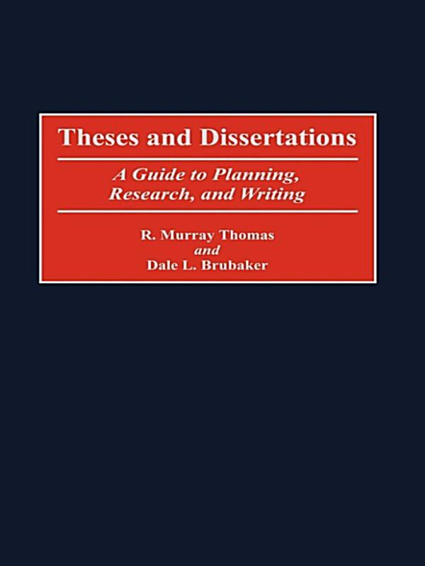 Thesis And Dissertation Editing