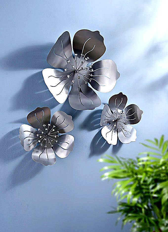 wanddeko metall blume ~ die neuesten innenarchitekturideen, Garten und Bauen