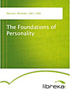 9783655015186 - The Foundations of Personality - Livre