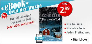 eBook Deal der Woche: Daniel Scholten - Der zweite Tod für nur 2.99 EUR statt 4.99 EUR. Sie sparen 40 %