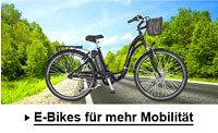 eBikes, Fahrräder und Elektro-Roller