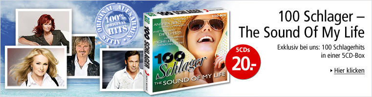 100 Schlager - The Sound Of My Life