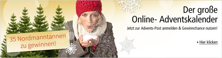 Jetzt zu unserem Online-Adventskalender anmelden & Gewinnchance nutzen