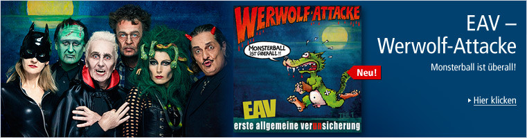 EAV - Werwolf-Attacke - Monsterball ist überall CD