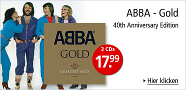 ABBA - Gold 40th Anniversary Edition - 3CDs