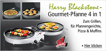Harry Blackstone - Gourmet-Pfanne 4 in 1