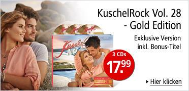 KuschelRock Vol. 28 - Gold Edition mit Bonus-Titel