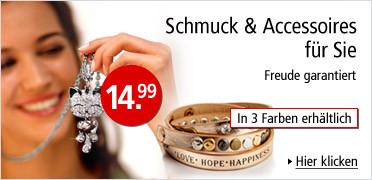 Schmuck & Accessoires für Sie