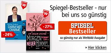 Spiegel-Bestseller - nur bei uns so günstig