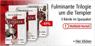 Fulminante Trilogie um die Templer: 3 Bände im Sparpaket. Sie sparen 61%