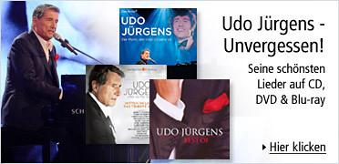 Udo Jürgens - Unvergessen - Seine schönsten Lieder auf CD DVD Blu-ray