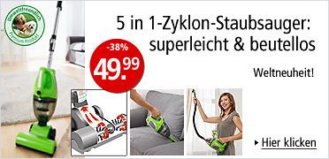 5 in 1 Zyklon-Staubsauger
