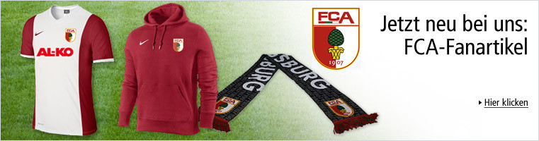 Jetzt neu: FC Augsburg Fanartikel