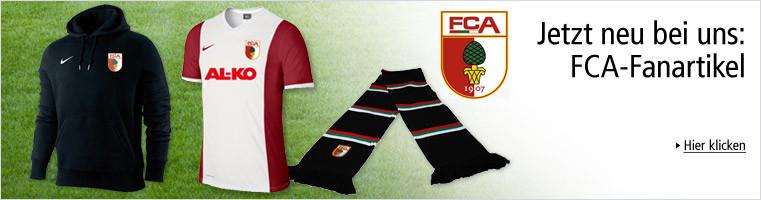 Jetzt neue bei uns: FCA-Fanartikel