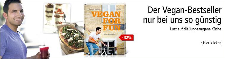 Attila Hildman - Vegan for fun: so günstig nur bei Weltbild