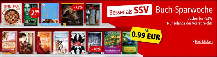 Buch-Sparwoche: Besser als SSV