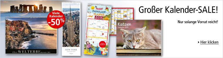 Großer Kalender-SALE!