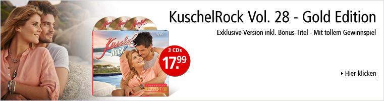 KuschelRock Vol.. 28 - Gold Edition mit Bonus-Titel