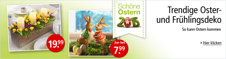 Trendige Oster- und Frühlingsdeko