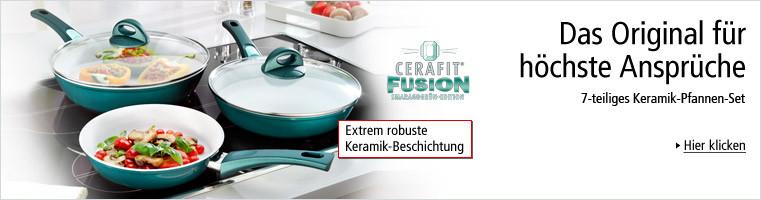 Cerafit Fusion Genius Pfannen-Set, 7-tlg.