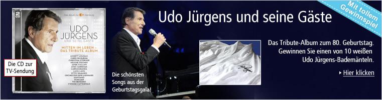 Udo Jürgens und seine Gäste - die CD zur TV-Sendung