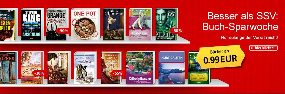 Besser als SSV: Buch-Sparwoche - Bücher ab 0.99 EUR