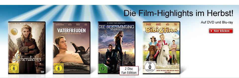 Die Film-Highlights im Herbst!