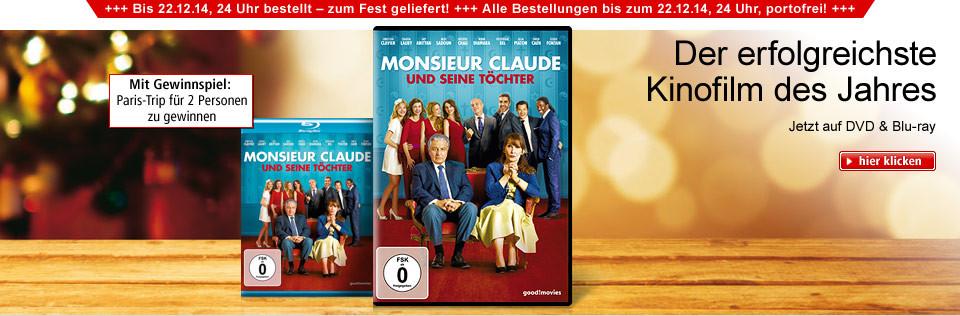 Monsieur Claude und seine Töchter auf DVD & Blu-ray mit Gewinnspiel