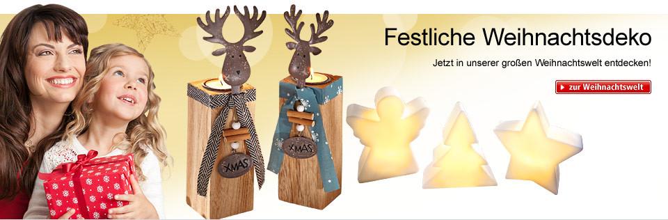 Unsere Weihnachtswelt: Deko, Geschenkideen, Überraschungen uvm.