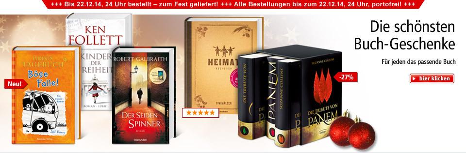 Für jeden das passende Buch: Die schönsten Buch-Geschenke