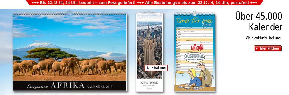 Tolle Kalender für 2015