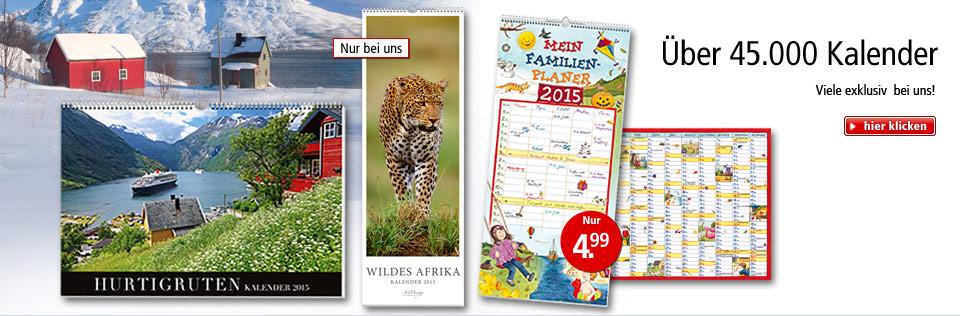 Über 45.000 Kalender ab 4.99 EUR - viele exklusiv bei uns