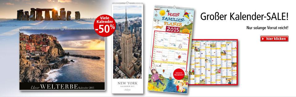 Kalender-Sale: 50% reduziert