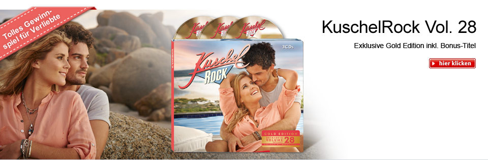 KuschelRock Vol. 28 - exklusive Gold-Edition! Mit Gewinnspiel für Verliebte
