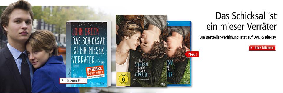 Das Schicksal ist ein mieser Verräter: Die Bestseller-Verfilmung jetzt auf DVD & Blu-ray