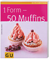 1 Form - 50 Muffins, m. Muffins-Backform
