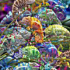 3D Magna Puzzle Chameleon 16 Teile