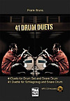 41 Drum Duets, m. MP3-CD