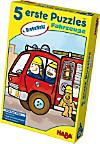 5 Erste Puzzles (Kinderpuzzle), Fahrzeuge mit Dreheffekt