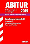 Abitur 2015: Erziehungswissenschaft, Leistungskurs Gymnasium / Gesamtschule Nordrhein-Westfalen