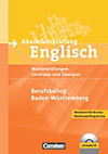 Abschlussprüfung Englisch, Berufskolleg Baden-Württemberg, m. Audio-CD