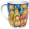 Adventskalender Tasse